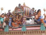 Decoration on the Sri Mariamman Temple